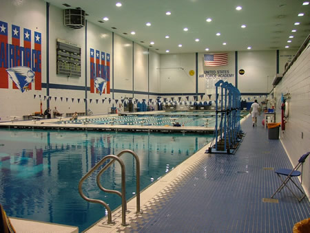 USAFA Air Force Academy Indoor Pool