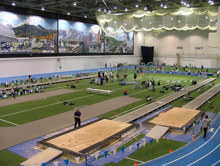 USAFA Air Force Academy Indoor Track