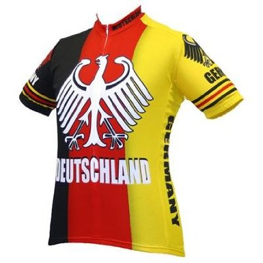 German Deutschland cycling jersey