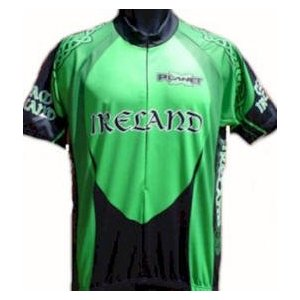 Irish cycling jersey