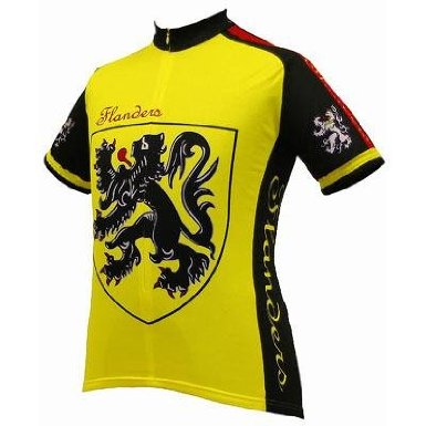 Lion of Flanders cycling jersey National Cycling Jerseys From Italy To Iraq