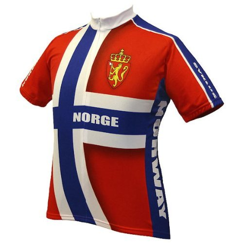 Norway Norwegian Cycling Jersey