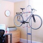 bike storage rack Bike Storage Rack   It Dont Need No Stinkin Wall Space!