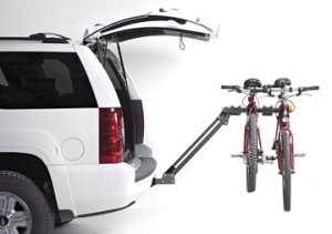 parallel bike hitch rack 300x211 Bike Hitch Racks  Convenient? Aero? Plentiful?