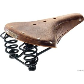 brooks saddle Bicycle Seats   Leather, Padding, Virility