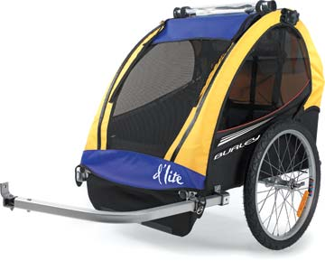 burley bike trailers review