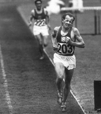 emil zatopek Emil Zatopek...Father Of Interval Training?