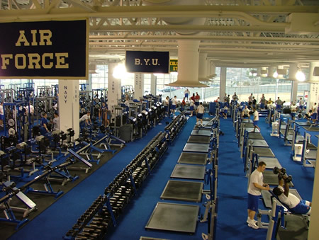 USAFA Air Force Academy Weight Room