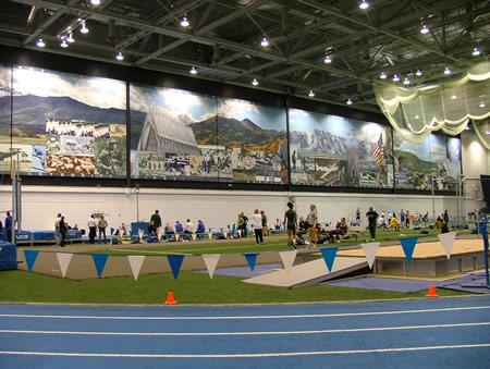 USAFA Air Force Academy Indoor Track