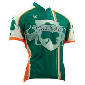 Ireland cycling jersey