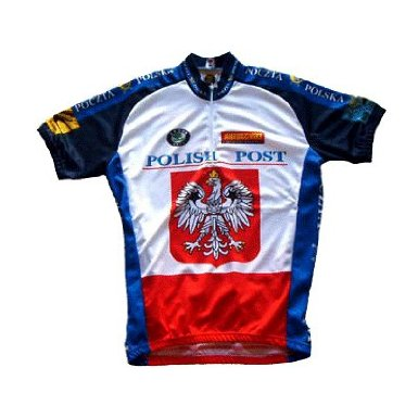 Polish Postal Cycling Jersey