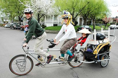 Child Bicycle Trailer Get Those Toddlers Out Of The House
