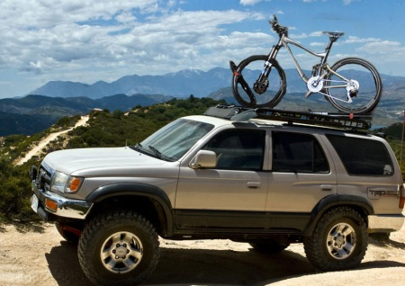 roof bike rack on 4runner