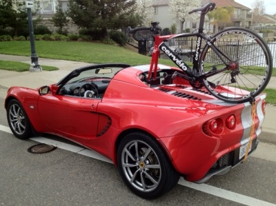 trunk-roof bike rack