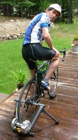 CycleOps Fluid 2 bike trainer