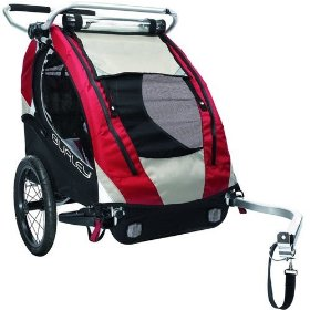 burley solo bike trailer review